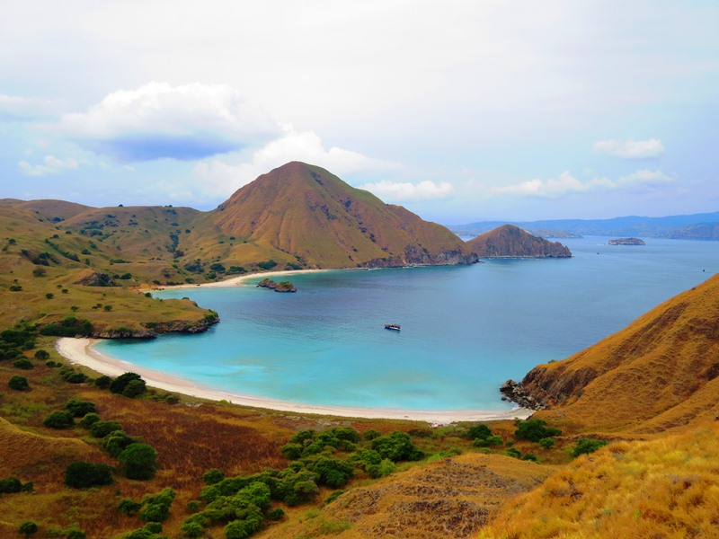 the komodo national park