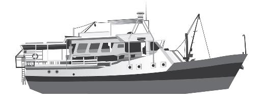 esquema del barco